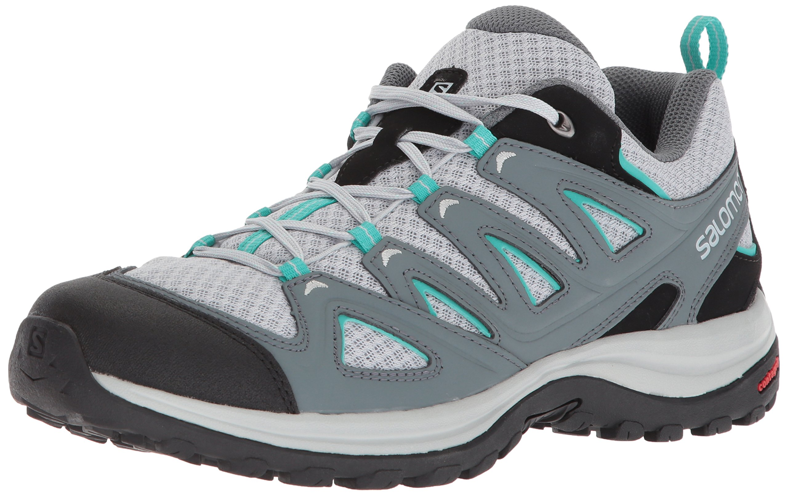Salomon Women's Ellipse 3 Aero W USA Trail Running Shoe, Quarry, 7.5 M US