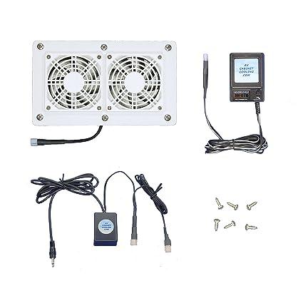 Fine Amazon Com Av Cabinet 12 Volt Trigger Controlled Cooling Download Free Architecture Designs Rallybritishbridgeorg