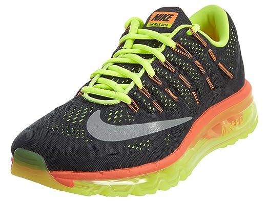outlet store e6e07 3d106 Nike Kid s Air Max 2016 (gs), BLACK REFLECT SILVER-VOLT-