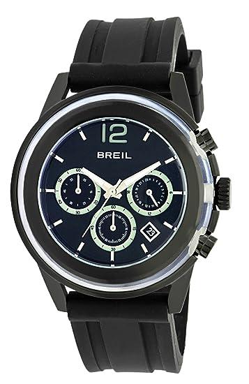 Breil TW0959 - Reloj de pulsera para hombre, negro: BREIL: Amazon.es: Relojes