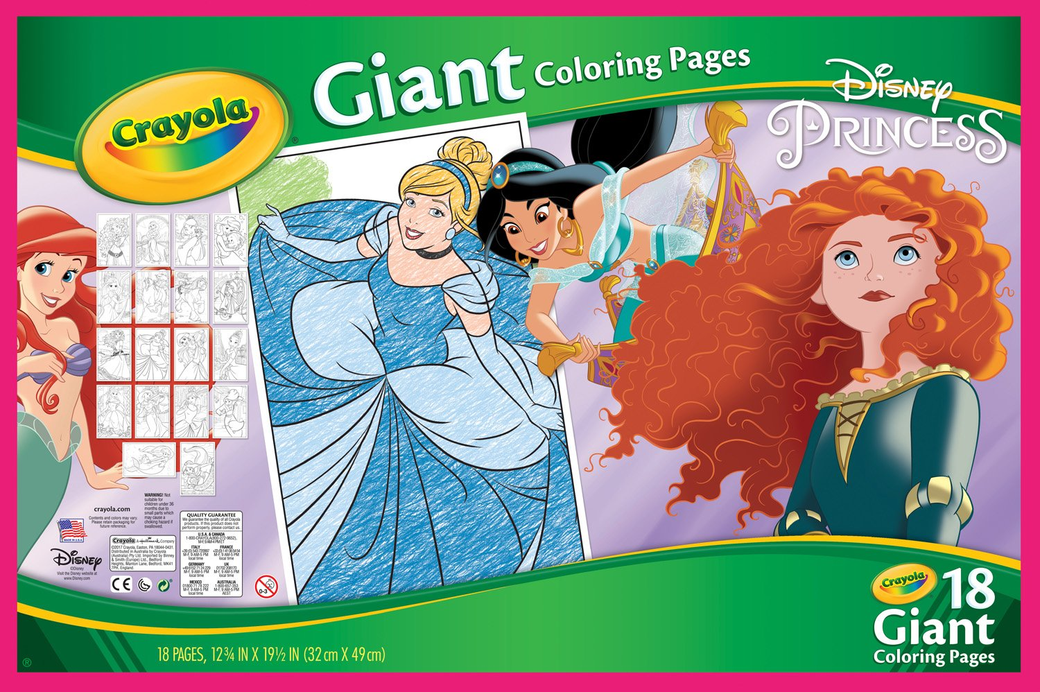 Crayola disney princess giant coloring pages - Crayola Disney Princess Giant Coloring Pages 29