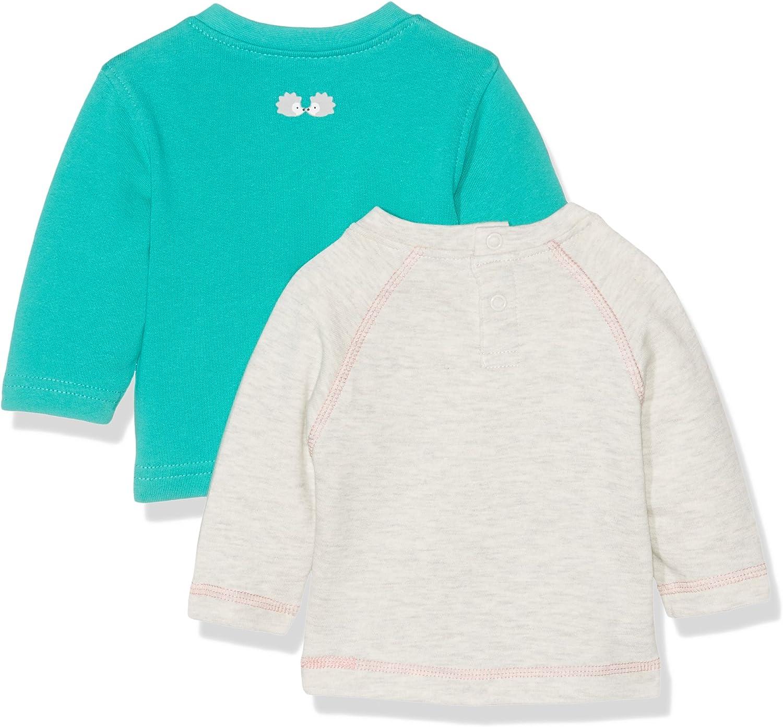 Twins Baby Girls Long Sleeve Tee Pack of 2