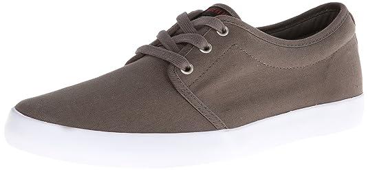 Dekline River River - Zapatillas de skate de tela unisex, color gris, talla 40.5