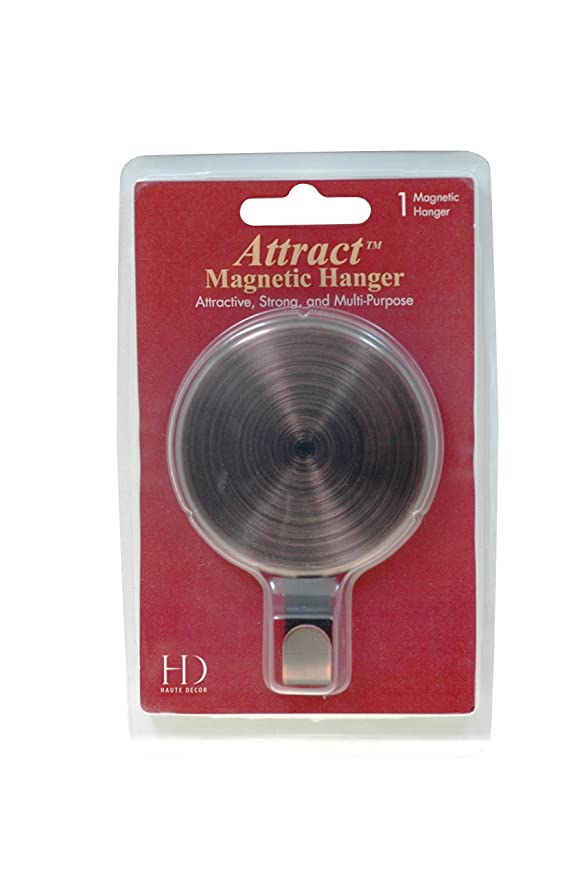Amazon Attract Magnetic Hook 10 Lb Capacity 1 Pack Oil Rubbed