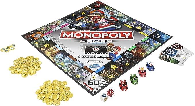 Hasbro Monopoly Gamer Mario Kart Edition Juego De Mesa: Amazon.es: Juguetes y juegos