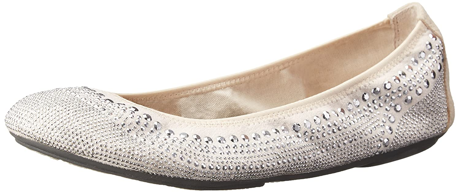 Hush Puppies Women's Chaste US|Silver Ballet Flat B00HS4EUUM 10 2A(N) US|Silver Chaste Stud 6daede