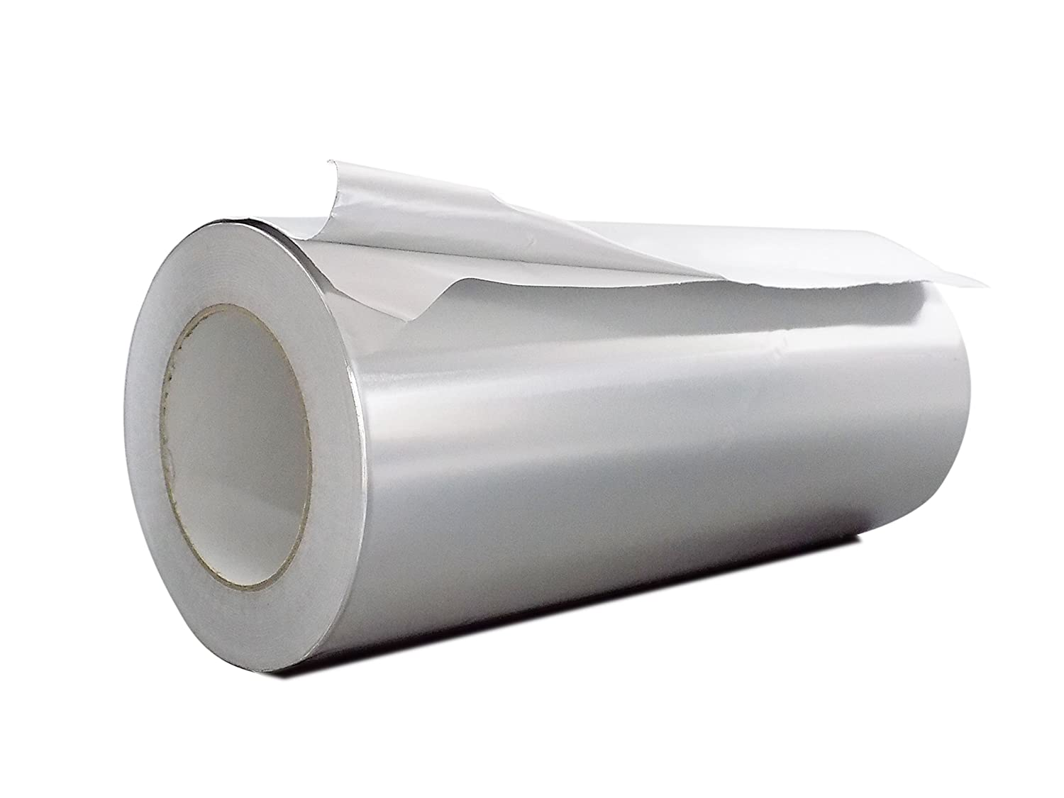 WOD AF-20R Premium Grade General Purpose Heat Shield Resistant Aluminum Foil Tape - Good for HVAC, Air Ducts, Insulation (Available in Multiple Sizes): 12 in. wide x 50 yds.