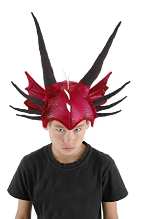 Red Dragon Costume Plush Hat for Kids and Adults by elope  sc 1 st  Amazon.com & Amazon.com: Red Dragon Costume Plush Hat for Kids and Adults by ...