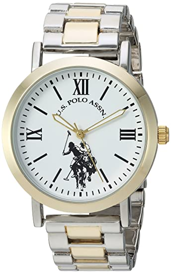 Amazon.com: U.S. Polo Assn. Metal y aleación reloj Casual de ...