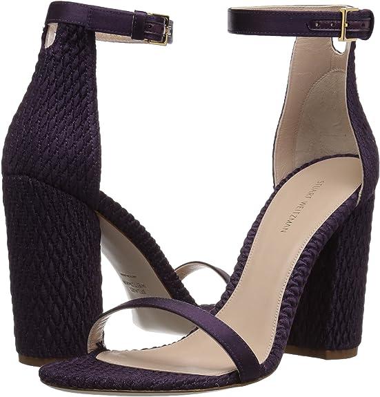 Stuart Weitzman 斯图尔特·韦茨曼 NUQUILT 一字扣 女式高跟凉鞋 37码1.4折$58.98 海淘转运到¥469