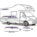 autocollants pour les camping cars vinyle. Black Bedroom Furniture Sets. Home Design Ideas