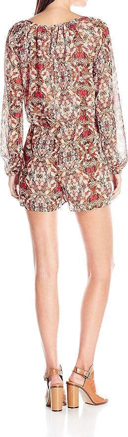 yibiyuan Women Shorts Rompers Belt V-Neck Print Wrap Jumpsuits Playsuit Short Pants
