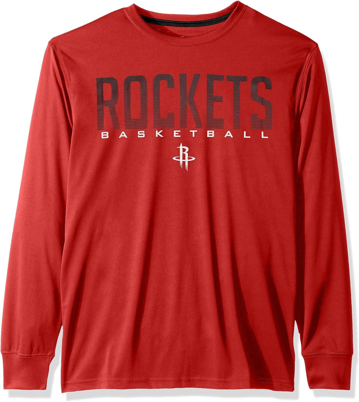 Ultra Game NBA Men's Active Long Sleeve Tee Shirt