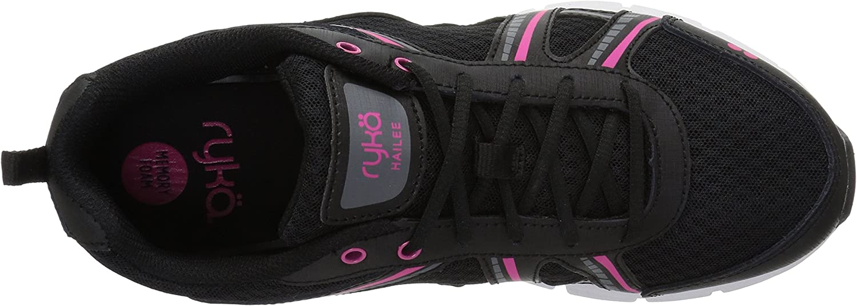 Ryka Women's Hailee Cross Trainer Black/Pink
