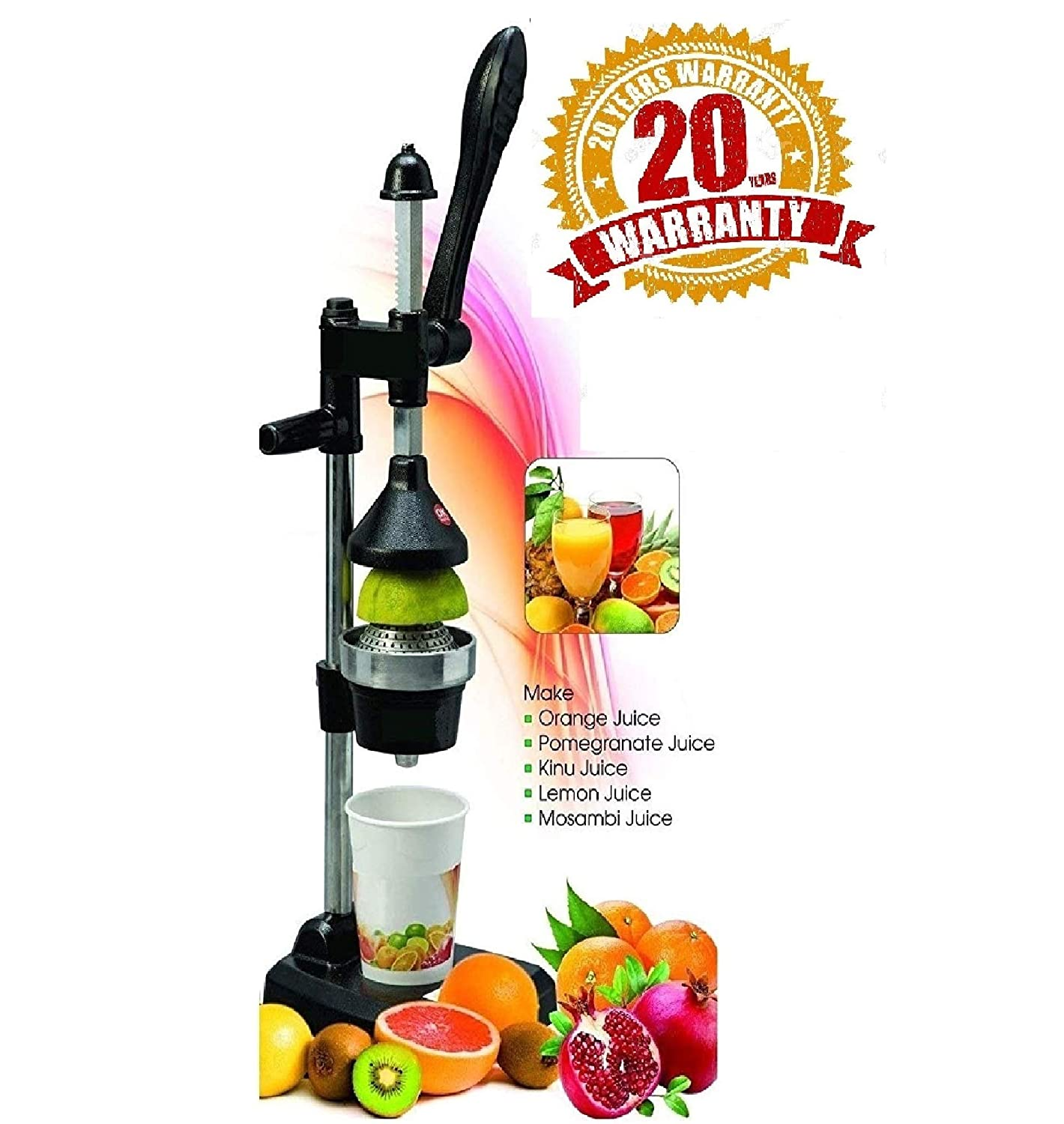 BTC Hand Press Juicer