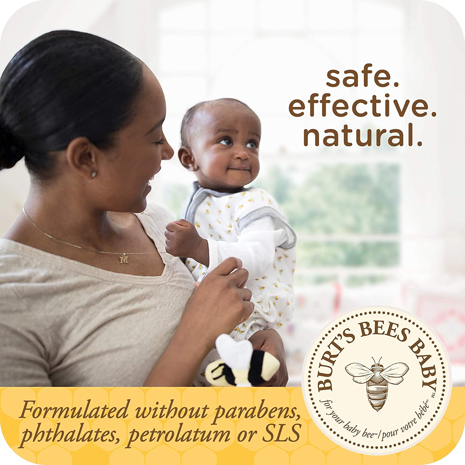Burt's Bees Baby Nourishing Lotion, Original Scent Baby Lotion - 12 Ounce Tube : Baby