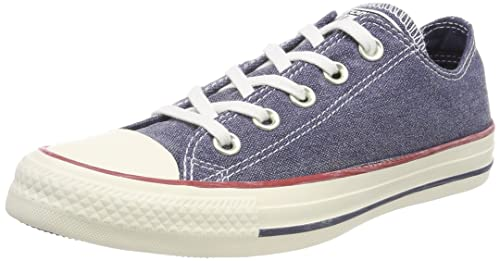 Unisex Adults CTAS Ox Trainers, Navy/Navy/White, 5.5 UK Converse