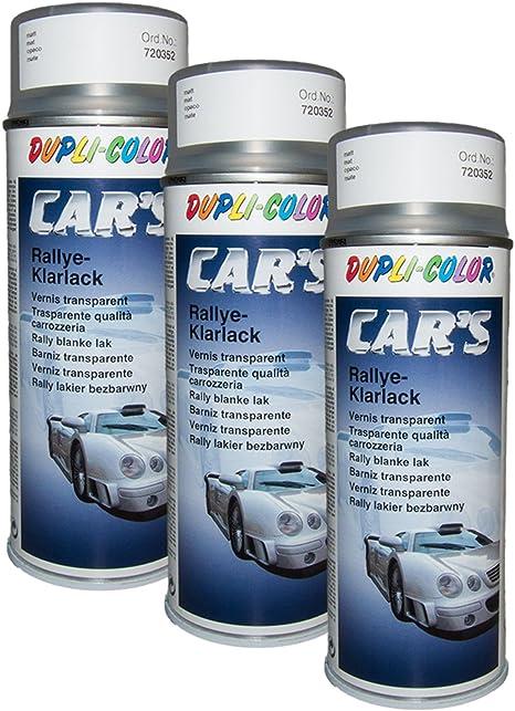 Dupli Bundle 3x Dupli Color Cars Rallye Klarlack Matt 400 720352 Auto