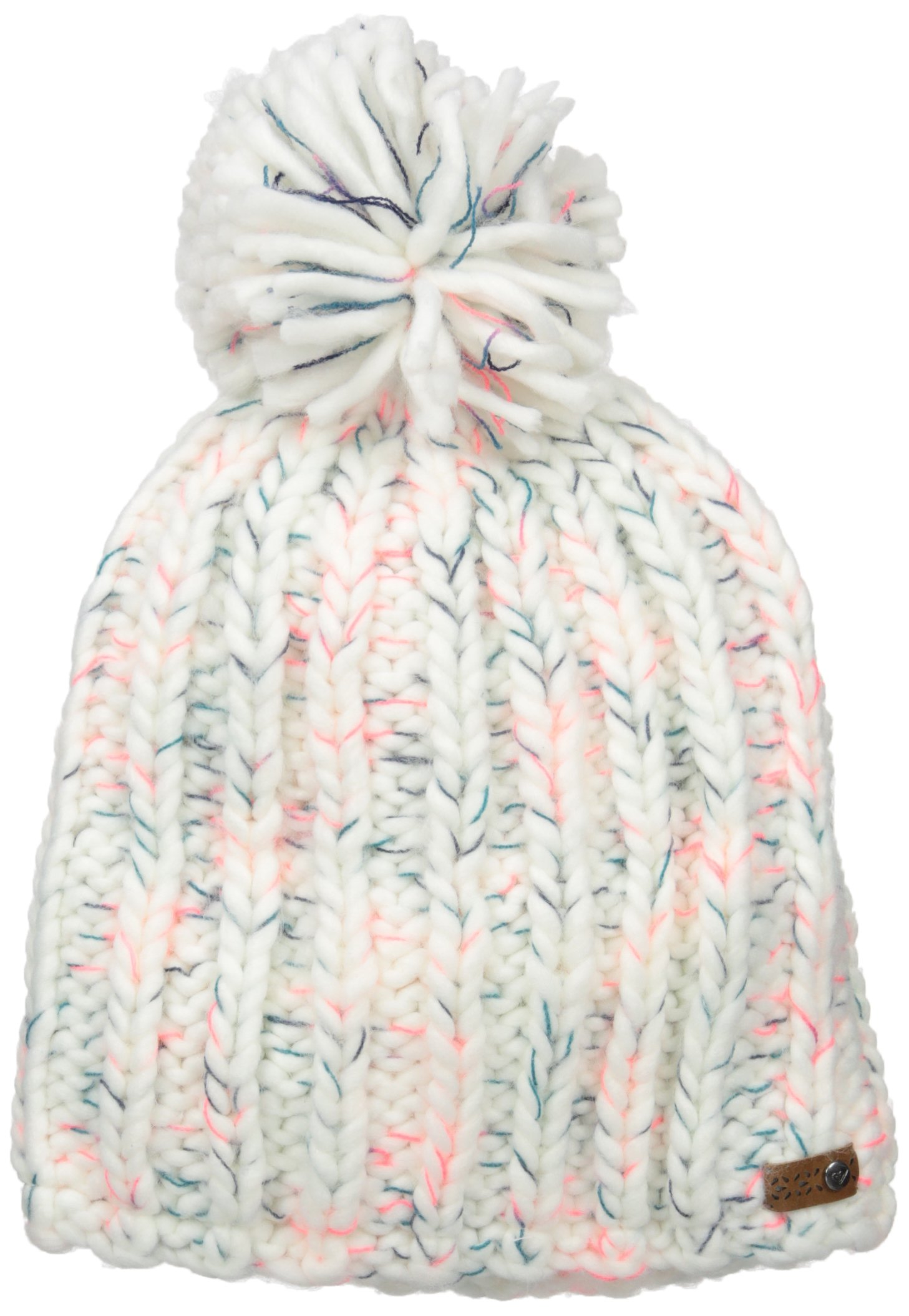 Roxy Snow Junior's Nola Beanie, Bright White, One Size