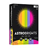 "Wausau 21289 Astrobrights Color Paper, 8.5"" x"