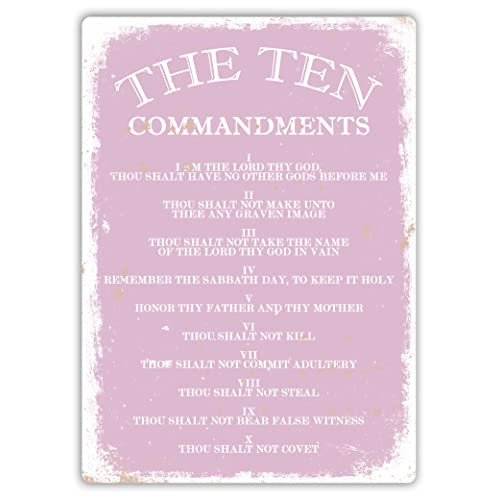 10 Commandments Wall Art: Amazon.co.uk