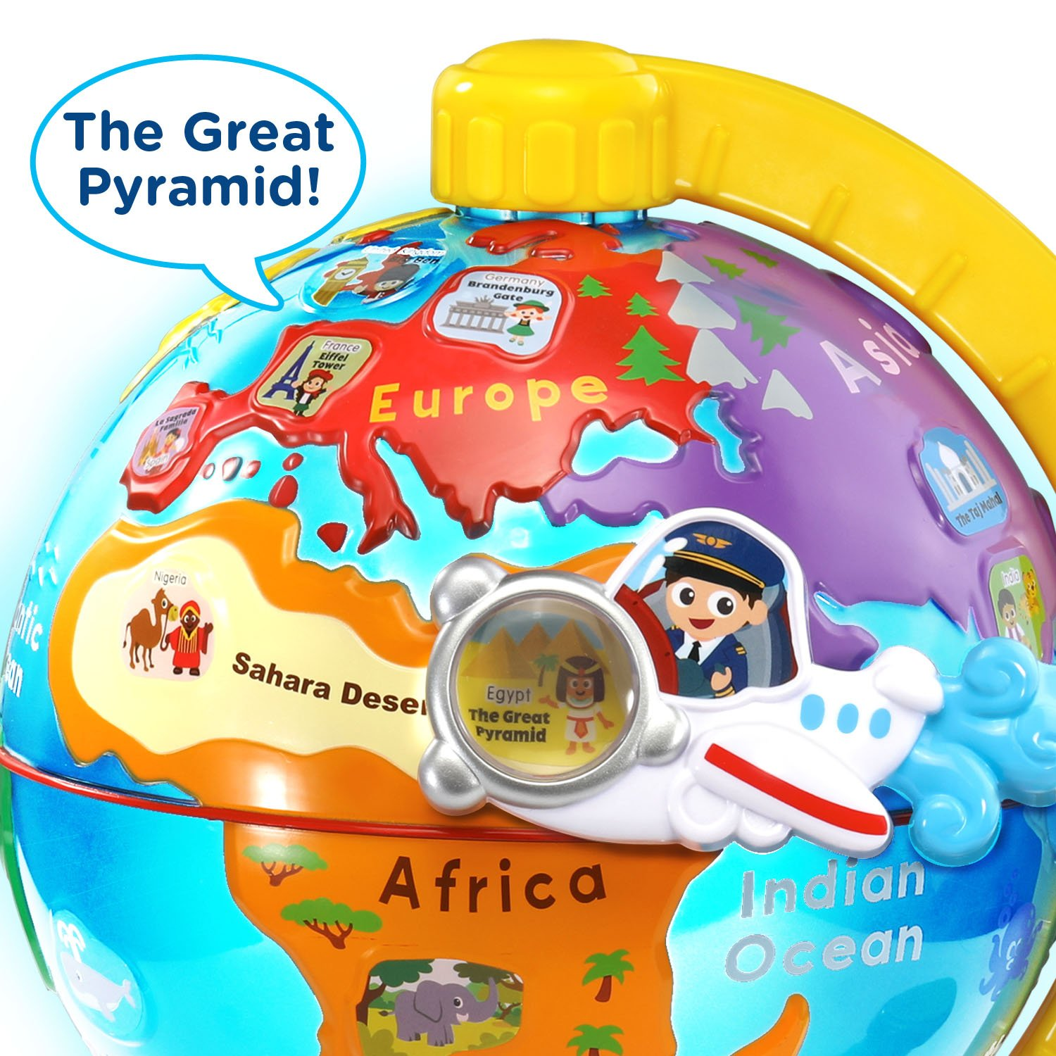 VTech Light and Flight Discovery Globe Amazon Exclusive by VTech (Image #3)