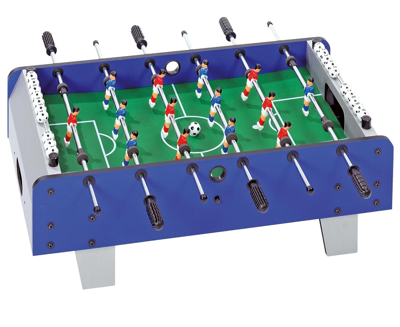 Betzold Mini-Tischfußball, inkl. 2 Kickerbälle - Tischkicker Kindertischfussball klein Kindertischkicker Tischfussball Kinderkicker Kicker-Tisch