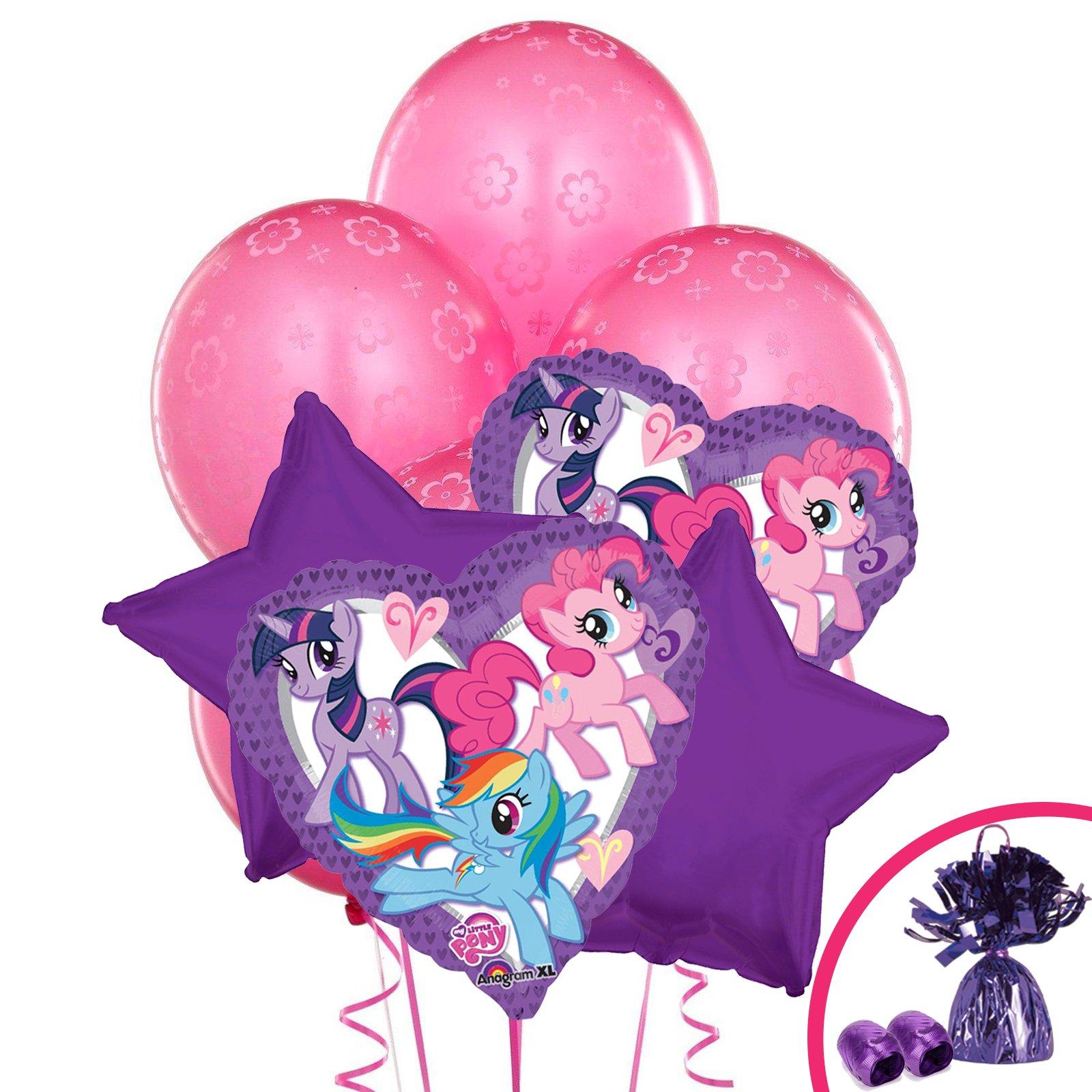 BirthdayExpress My Little Pony Friendship Magic Balloon Bouquet