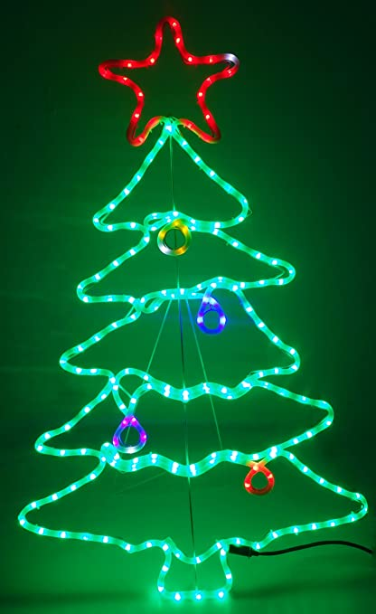 new product 31884 84a4c Christmas Concepts® 115cm Multi Colour Sparkling LED Rope ...