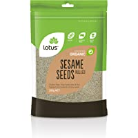 Lotus Organic Hulled Sesame Seeds, x