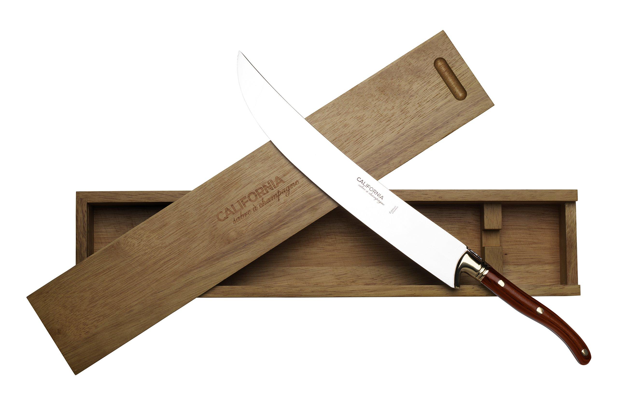 California Champagne Saber Company Sabrage Sword Edition Sonoma (Rosewood)
