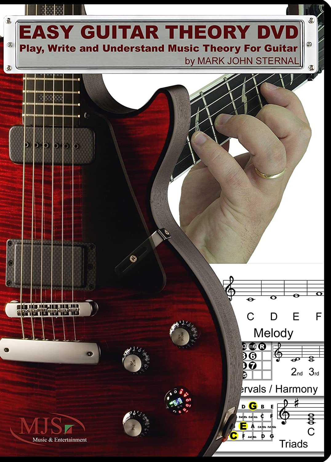 Amazon.com: EASY GUITAR THEORY DVD - Play, Write and Understand ...
