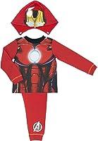 Marvel Avengers Assemble Iron Man Hooded Boys Pyjamas - 2-8 Years