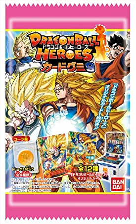 ON BOX 9 20 pieces Dragon Ball Heroes card Gummy (Candy toy ...