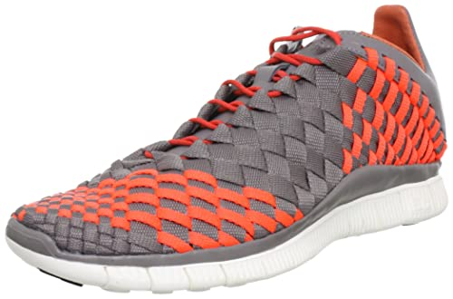 check out df19e d78c6 Nike Mens Free Inneva Woven Sport Grey Total Crimson 579916-006 10