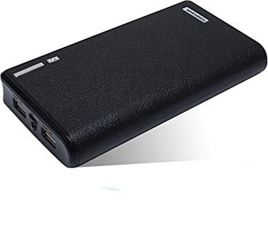 Dual USB 20000 mAh compacto cargador portátil, 18650 pilas portable Power Banco de Batería caja para iPhone 7 6 6S Plus, 5S, iPad, Samsung: Amazon.es: Electrónica