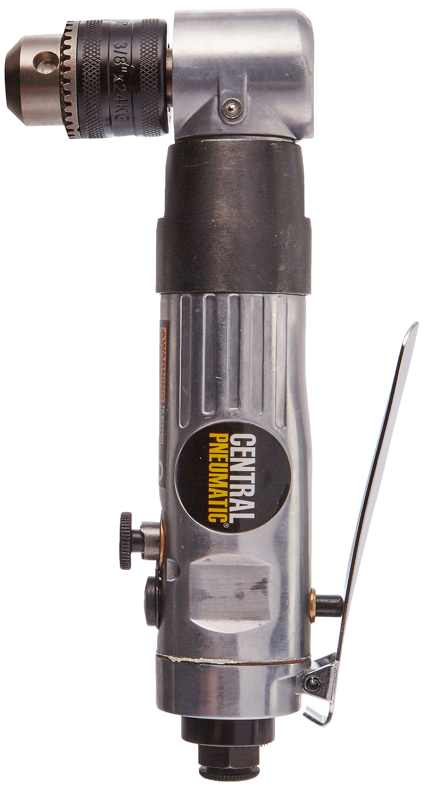 Central Pneumatic 3/8'' Reversible Air Angle Drill by Central Purchasing, LLC