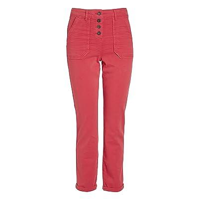 Next Pantalon Coupe Droite À Boutons Femme