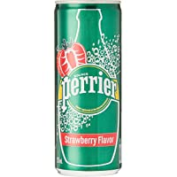 Perrier Strawberry Can Fridge Pack Perrier Strawberry Can Fridge Pk (Pack of 10)