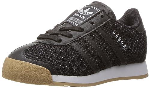 big sale 67c7b 8d4f9 adidas Originals Boys Samoa C TEX Running Shoe, Utility Black Gum, 11.5 M