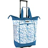 Pacific Coast Signature Large Rolling Shopper Tote Bag