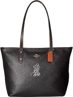 332e36e29 COACH MICKEY Patricia Saddle 18 in Glove Calf Leather with Mickey ...