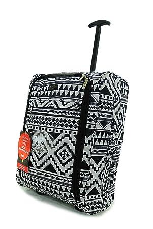 Hand Luggage 50x40x20 Wheeled Lightweight Cabin Easyjet Trolley ...