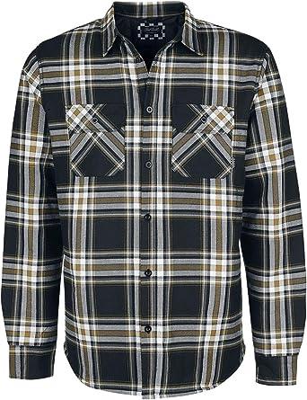 Chet Rock Camisa Franela Thermo Hombre Camisa de Franela ...