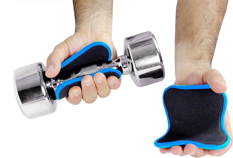 Fitness Weight Lifting Hooks Grip Padded Neoprene Non-Slip Pair