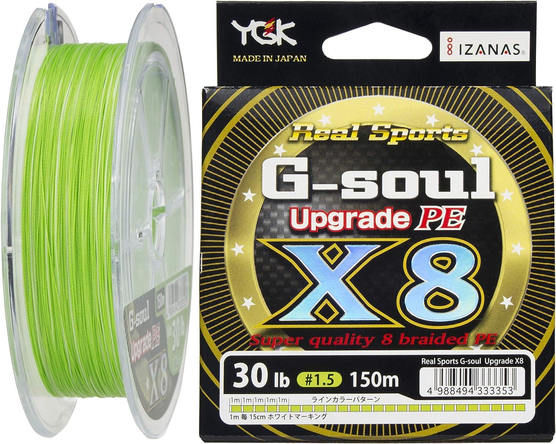 Hilo trenzado para pesca serie PE G-Soul X8 Upgrade de 150 m y 13 ...