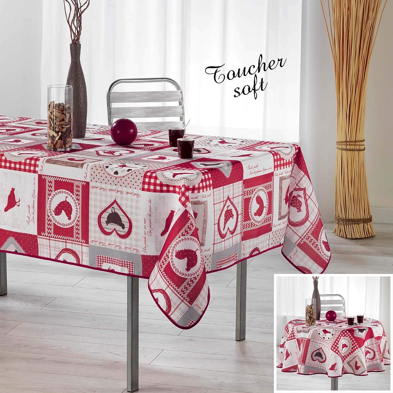 Couleur Campagne Set DE Table 28.5 x 44 CM Polypropylene Opaque Patch COCOTTE 28x44 cm Mat/ériel Synth/étique Multicolore
