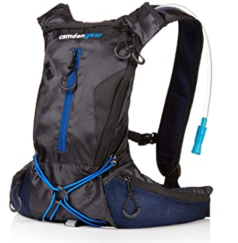 Hydration Pack with 1 5L Backpack Water Bladder  Fits Men and Women