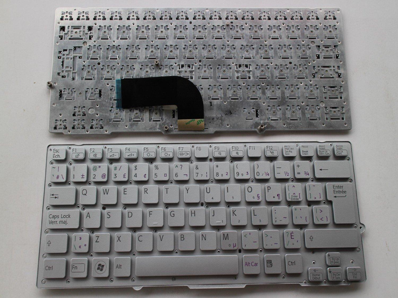 Amazon.com: CA Canadian Clavier keyboard for Sony PCG-41214M 4121EM VPC-SA VPC-SB series VPC-SA21GX VPC-SB1A9E: Computers & Accessories