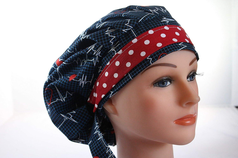 Quality Scrub Hat Chemo Cap Bouffant